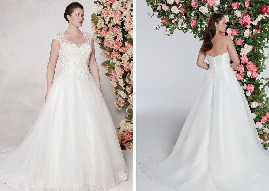 Des robes pensées pour les mariées quelles que soient leur taille et leur morphologie avec les collections Sincerity Bridal et Sweetheart Gowns
